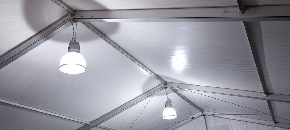beleuchtung für zelte